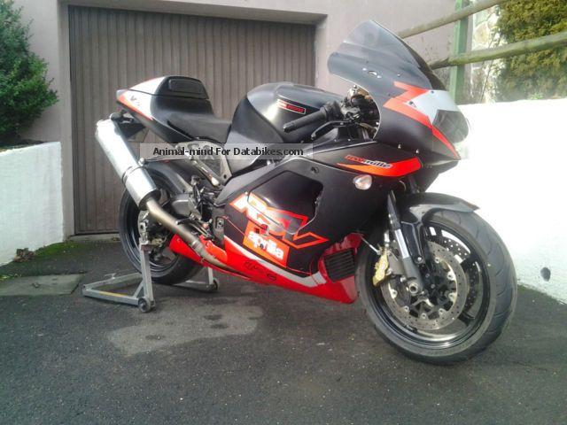 2006 Aprilia  RSV1000 Motorcycle Sports/Super Sports Bike photo