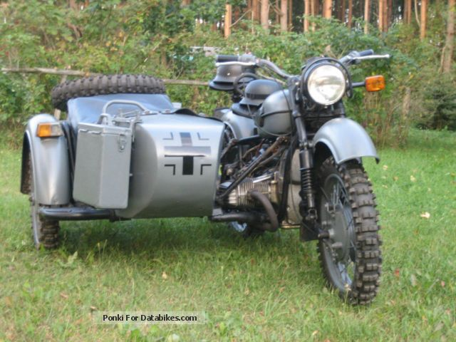 1983 BMW  (Dnepr MT16) R71 Motorcycle Combination/Sidecar photo