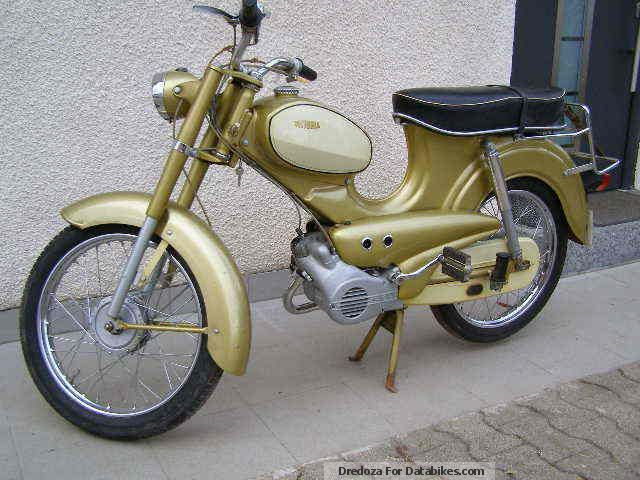 1969 DKW  Viktoria T 114 Motorcycle Motor-assisted Bicycle/Small Moped photo