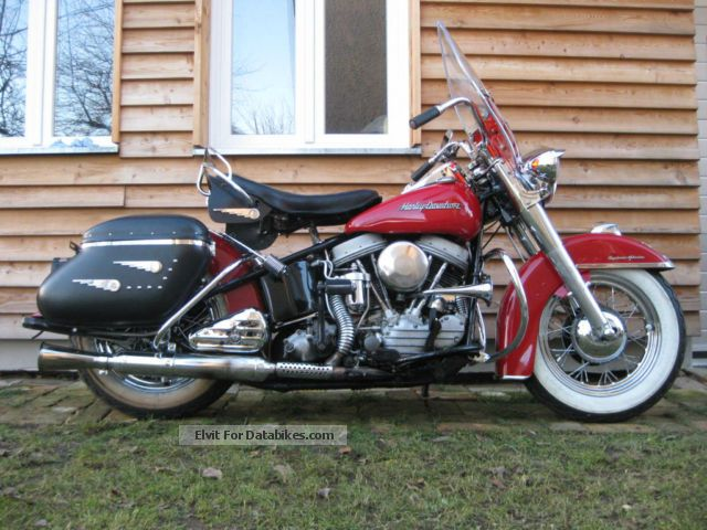 Harley Davidson  Panhead Hydraglide original 50JA.Harley! 1954 Vintage, Classic and Old Bikes photo
