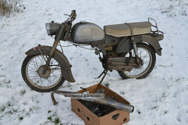 1964 Zundapp  Zündapp KS50 Motorcycle Lightweight Motorcycle/Motorbike photo