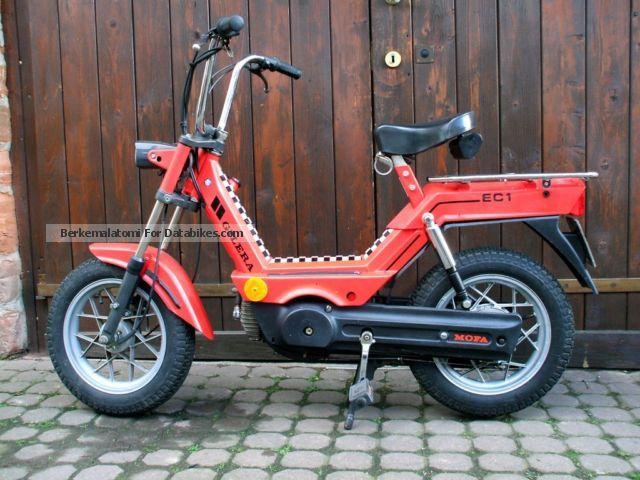 1986 Gilera  EC1 (Vespa / Piaggio) Motorcycle Motor-assisted Bicycle/Small Moped photo