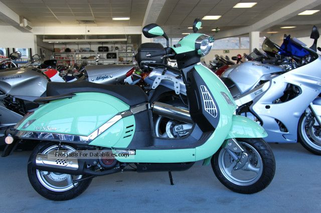 2012 Keeway  / LuXXon F8 25/45 Motorcycle Scooter photo