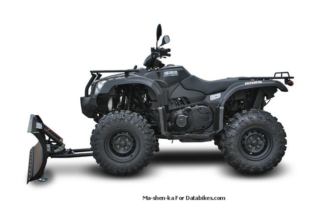 2012 GOES  G 520 4x4 action! Winch / snow brush Motorcycle Quad photo