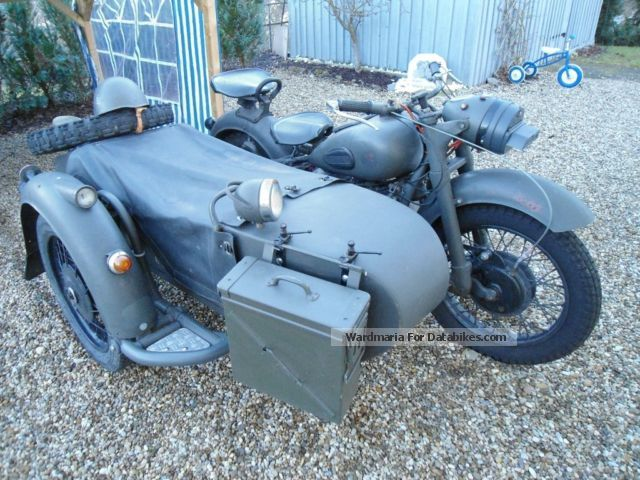 1962 Ural  KIEV K 750 Motorcycle Combination/Sidecar photo