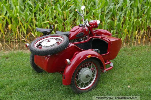 1964 Ural  Dnepper Motorcycle Combination/Sidecar photo
