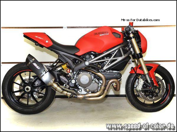 2013 Ducati  Monster 1100 EVO Motorcycle Naked Bike photo