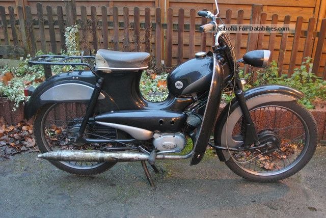 Hercules  Lastboy Former Post moped 1969 Vintage, Classic and Old Bikes photo