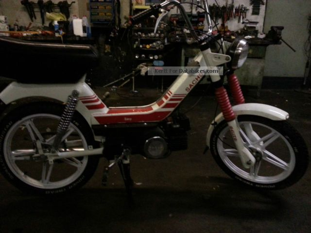 1988 Sachs  Saxy 25 Motorcycle Motor-assisted Bicycle/Small Moped photo