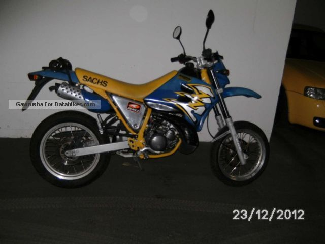 1998 Sachs  X Road 125 Motorcycle Lightweight Motorcycle/Motorbike photo