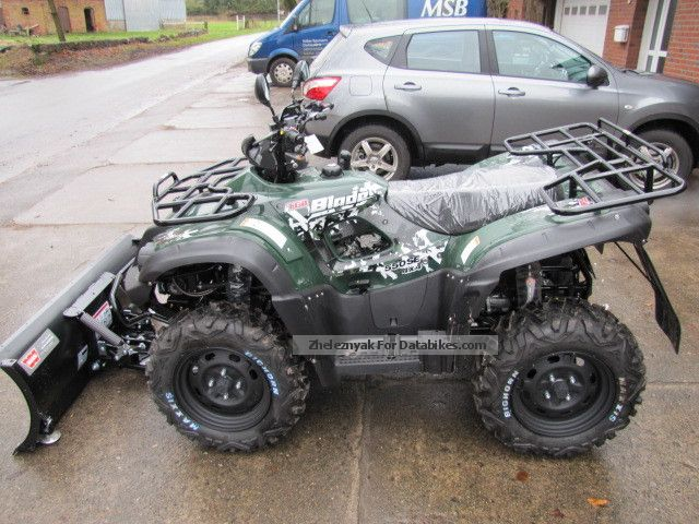 2012 TGB  Blade 550 4x4 IRIS LOF Winter Edition Motorcycle Quad photo
