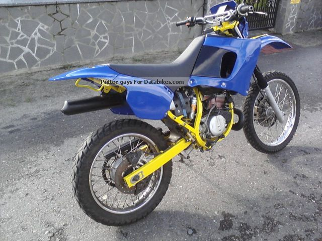 1997 Cagiva  W8 Motorcycle Enduro/Touring Enduro photo
