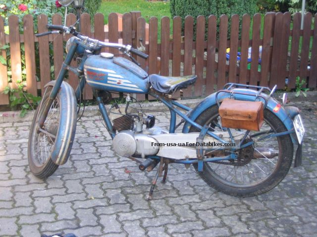 Husqvarna  Örnen ST 252 1952 Vintage, Classic and Old Bikes photo