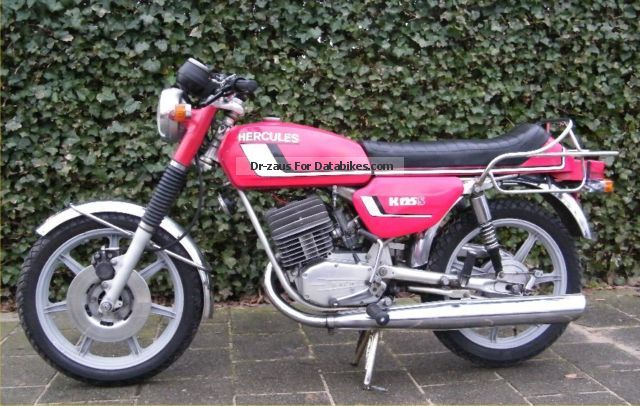 Hercules  K125s 1977 Vintage, Classic and Old Bikes photo
