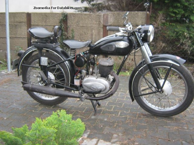Zundapp  Zündapp normal lux 1954 Vintage, Classic and Old Bikes photo