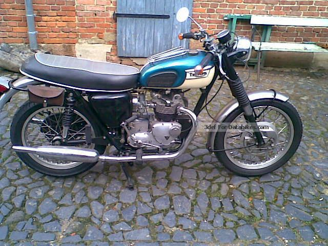 Triumph  T100C Tiger 1969 Vintage, Classic and Old Bikes photo