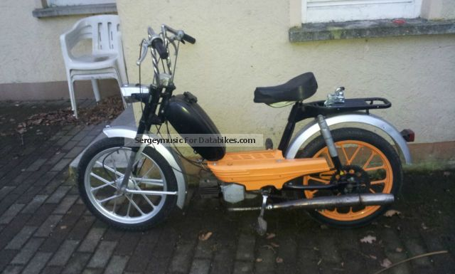1982 Herkules  M5 Motorcycle Motor-assisted Bicycle/Small Moped photo