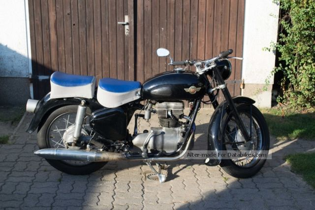 Simson  AWO 425 1960 Vintage, Classic and Old Bikes photo