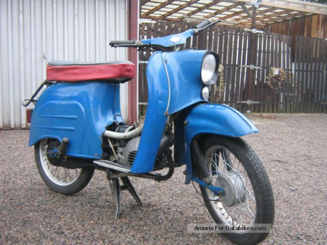 1972 Simson  KR 51/1 oldtimer Motorcycle Motor-assisted Bicycle/Small Moped photo