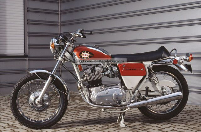 BSA  Rocket 3 1971 Vintage, Classic and Old Bikes photo