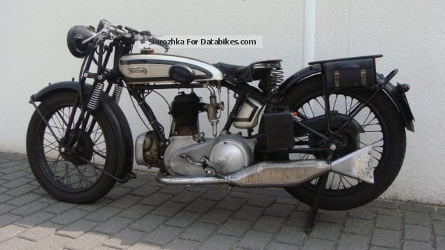 Norton  16H Flat Tank, original non-tinkering 1929 Vintage, Classic and Old Bikes photo