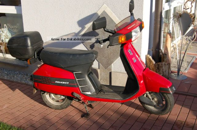 1989 Peugeot  SC 50, FO 51-D Motorcycle Scooter photo