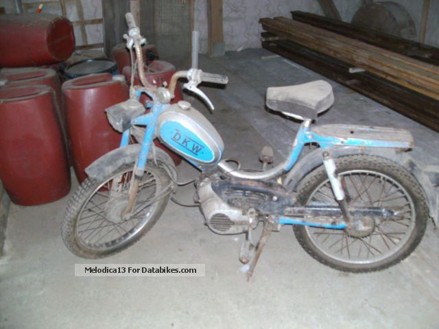 1972 DKW  629 Motorcycle Motor-assisted Bicycle/Small Moped photo