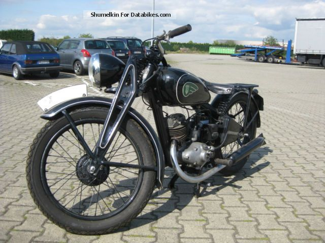 DKW  KS200 1936 Vintage, Classic and Old Bikes photo