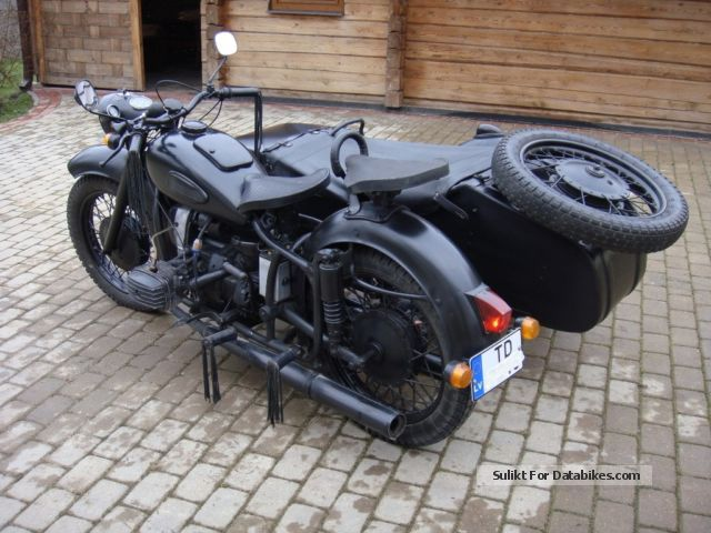 Ural  Dnepr MT-9 1969 Vintage, Classic and Old Bikes photo