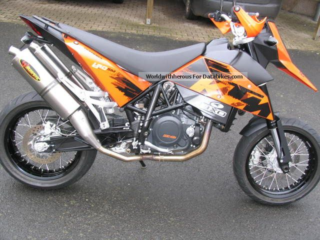 2007 KTM  690 Supermoto Motorcycle Super Moto photo
