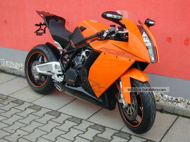 2008 KTM  1190 RC8 Motorcycle Sports/Super Sports Bike photo