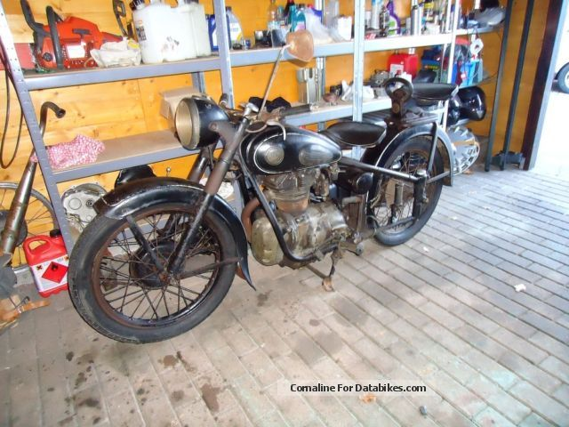 Simson  AWO T Orginalzustand DC + + reference letter 1956 Vintage, Classic and Old Bikes photo