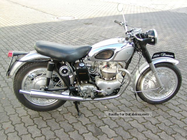 Norton  Dominator 1954 Vintage, Classic and Old Bikes photo