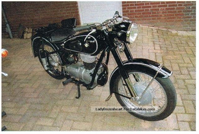 1953 BMW  R25 Motorcycle Motorcycle photo