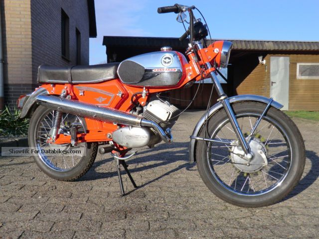 Zundapp  Zündapp KS 50 Cross moped 1973 Vintage, Classic and Old Bikes photo