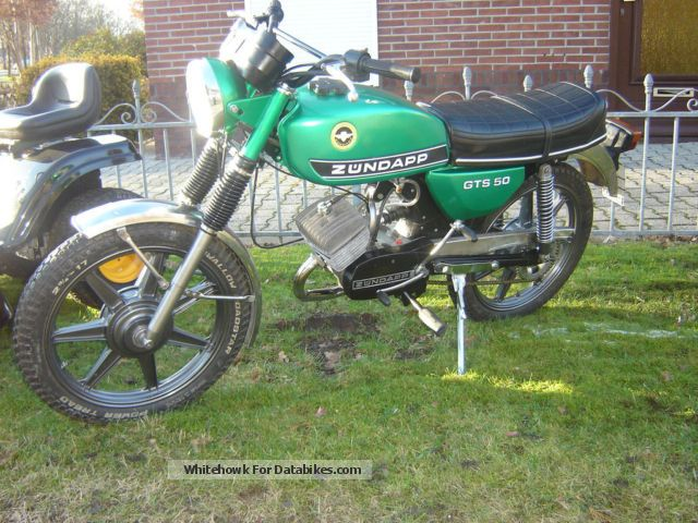 Zundapp  Zundapp 529 gts 50 1978 Vintage, Classic and Old Bikes photo