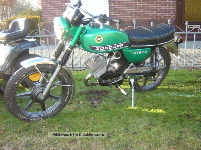 1978 Zundapp  Zundapp 529 gts 50 Motorcycle Motor-assisted Bicycle/Small Moped photo
