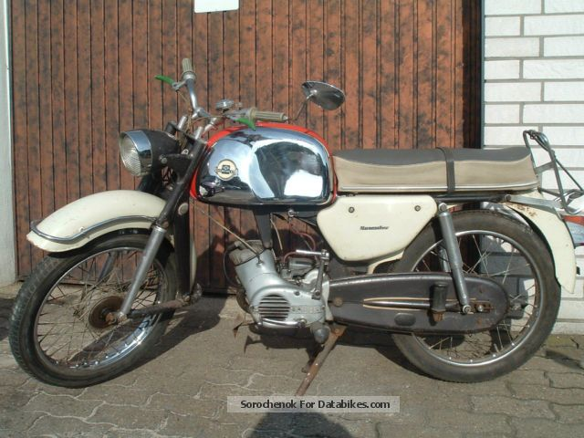 1967 Hercules  MK 50 super 4 Motorcycle Motor-assisted Bicycle/Small Moped photo