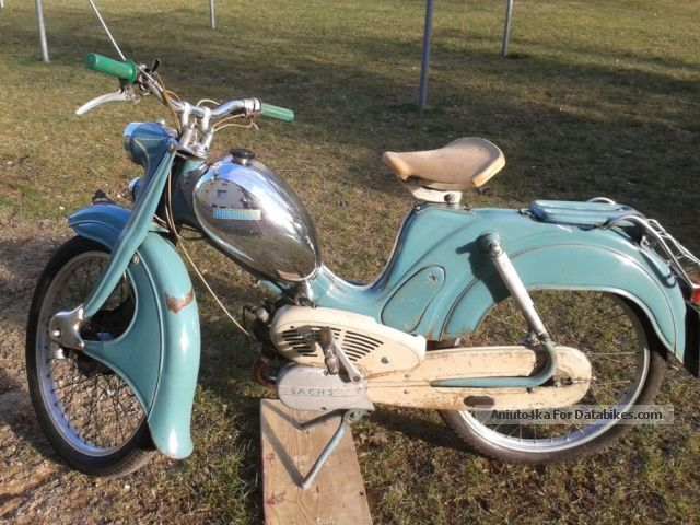 1957 Hercules  219 Motorcycle Motor-assisted Bicycle/Small Moped photo