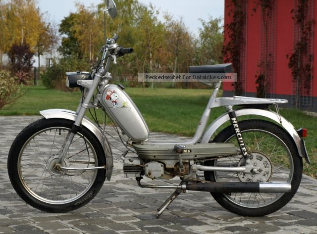 1975 Hercules  M5 Motorcycle Motor-assisted Bicycle/Small Moped photo