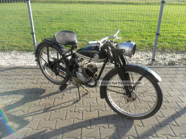 Hercules  TYP212 1953 Vintage, Classic and Old Bikes photo