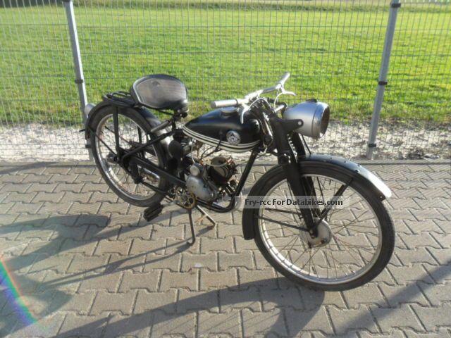1953 Hercules  TYP212 Motorcycle Motorcycle photo