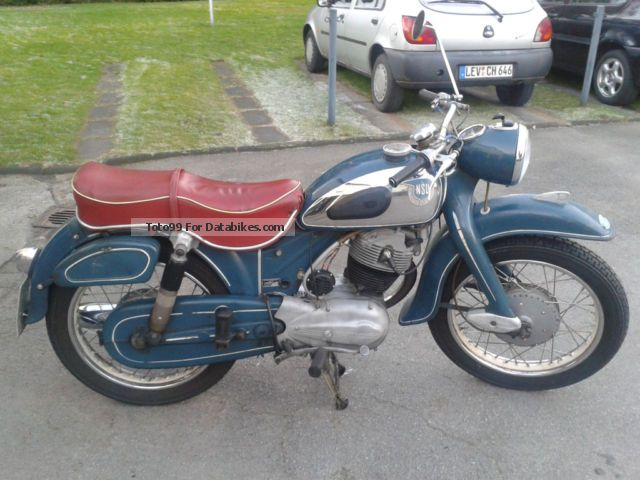 NSU  Max Supermax 1958 Vintage, Classic and Old Bikes photo