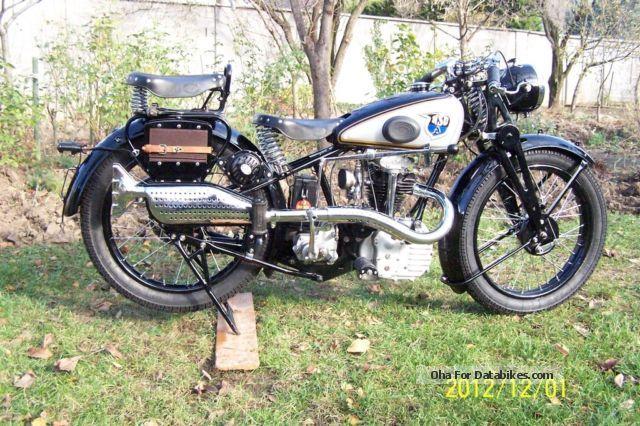 NSU  OSL 1937 Motorcycle photo