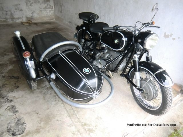 BMW  R 69 with Steib S350 sidecar 1958 Vintage, Classic and Old Bikes photo