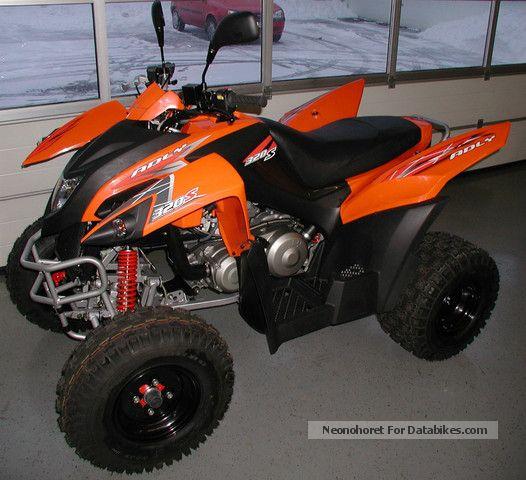 Herkules  ATV 320 S Hurricane 2010 Quad photo
