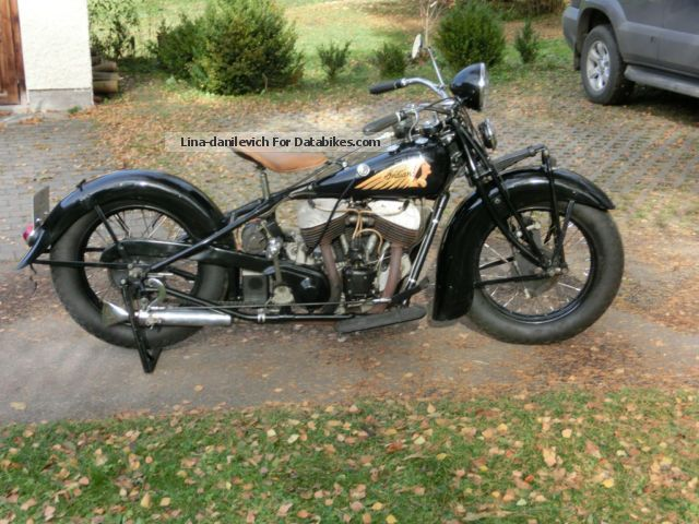 1935 Indian  Chief Motorcycle Other photo