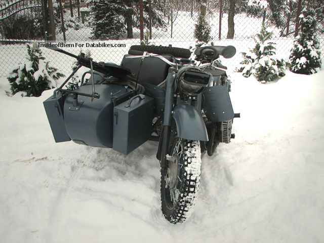 Ural  MW-750 ORIGINAL 1966 Vintage, Classic and Old Bikes photo