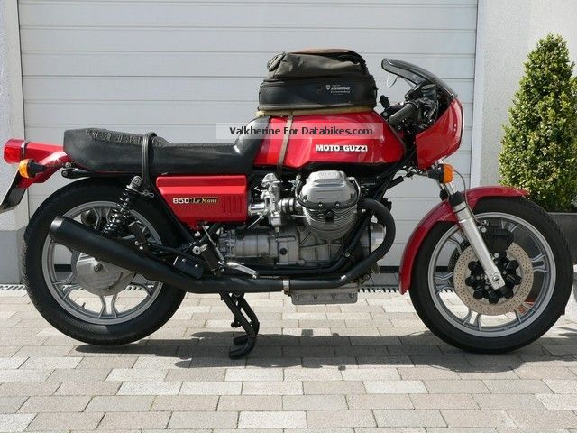 Moto Guzzi  Le Mans I LeMans 1977 Vintage, Classic and Old Bikes photo