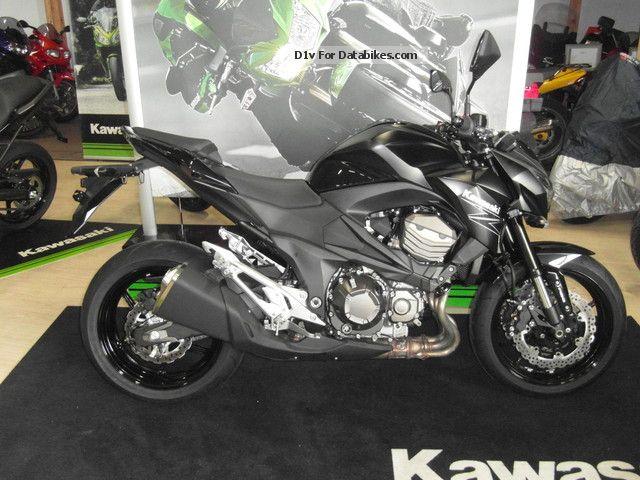 2012 Kawasaki  Z 800 TOP Neumodell 2013 Motorcycle Naked Bike photo